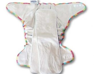 Biddykins Hemp Fitted Night Nappy